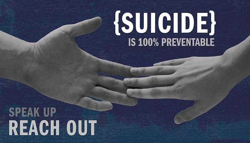 Suicide is preventable - speak out